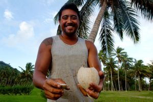 Coconut is a staple in the traditional diets of the Pacific islands