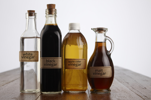 pantry staples: various vinegars