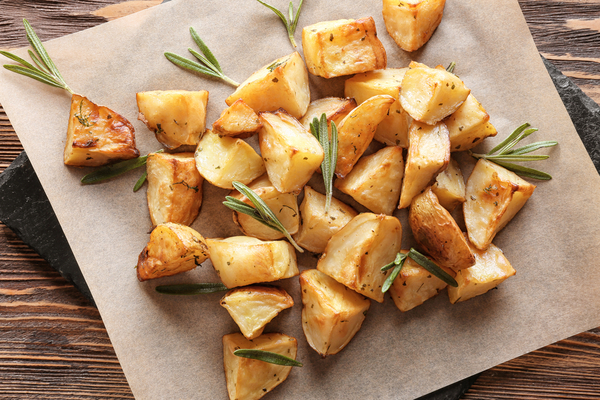 baked potatoes with rosemary - are potatoes good for you