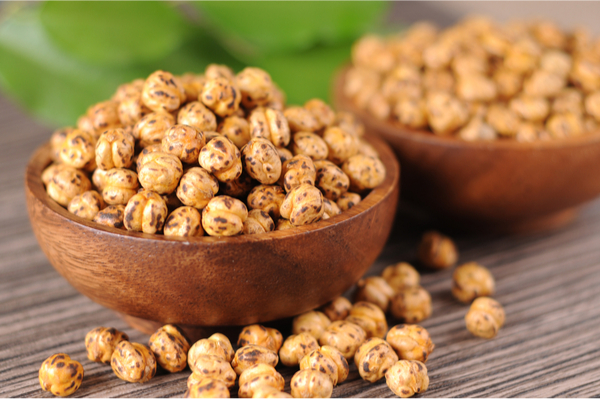 roasted chickpeas a plant-based protein snack