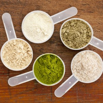 Plant-based protein powders
