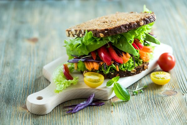 sandwich with vegetable